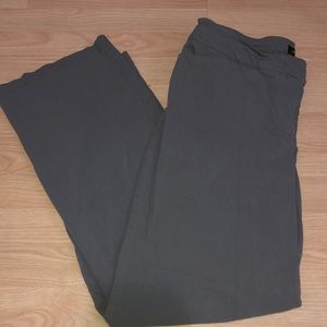 Woman's Lane Bryant gray dress pants - size 18